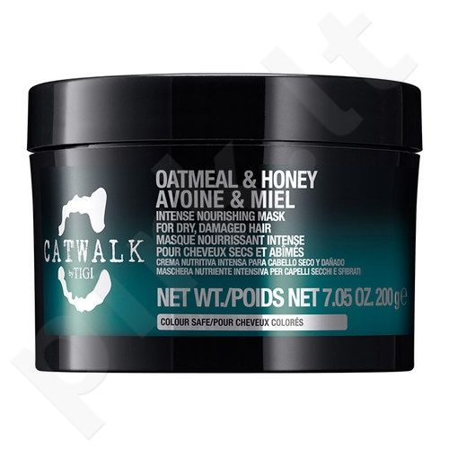 Tigi Catwalk Oatmeal & Honey Nourishing Mask, kosmetika moterims, 580g