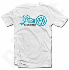 """Marškinėliai """"Aš vairuoju VW"""""""