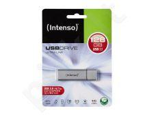 Atmintukas Intenso Ultra Line 128GB USB3 - Iki 35/20MBs, Aliuminio korpusas