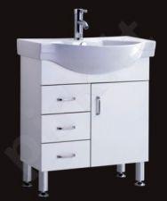 Vonios kambario spintelė su praustuvu A216