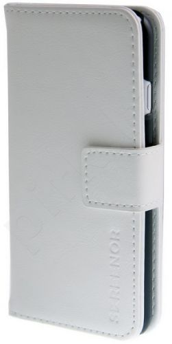 SCREENOR PREMIUM LEATHER IPHONE 6 WHITE
