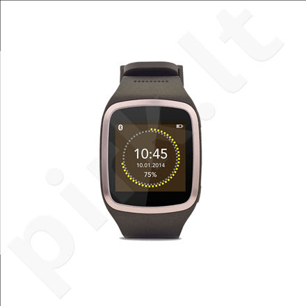 MyKronoz Smartwatch ZeSplash Brown