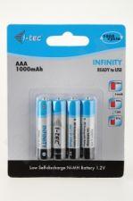 Baterijos i-Tec INFINITY AAA 1000mAh LSD  Ready to use