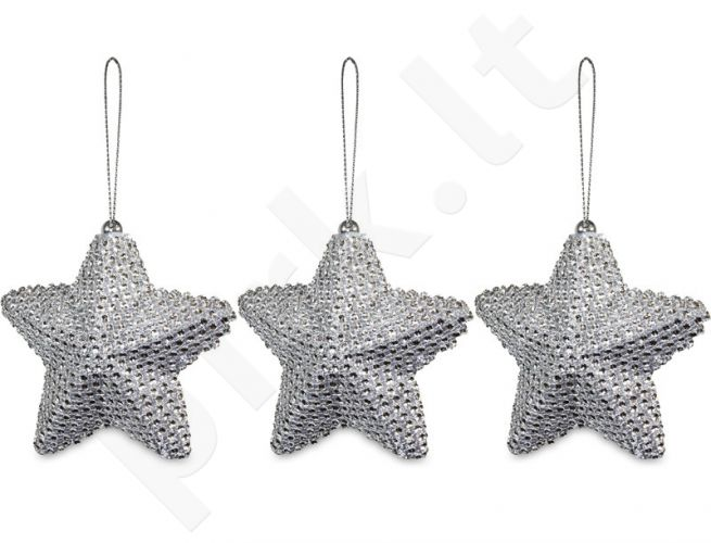 Dekoro detalė Žvaigždė, 3 vnt. 103514