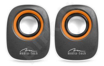 Stereo kolonėlės Media-Tech IBO RMS 6W Baltos