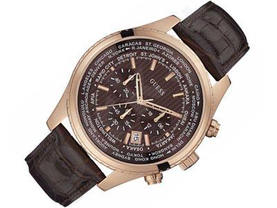 Guess Pursuit W0500G3 vyriškas laikrodis-chronometras