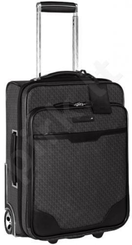 MONTBLANC SIGNATURE BLACKTRAVEL BAGS 106759  kelioninis lagaminas ant ratukų