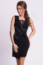 Emamoda suknelė - juoda 9913-1