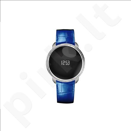 MyKronoz Smartwatch ZeCircle Premium Embossed (Blue)