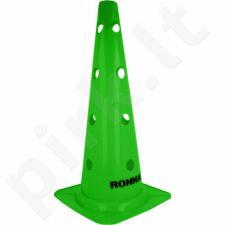 Stovelis su skylutėmis Ronnay 45 cm žalia