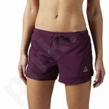 Šortai sportiniai Reebok Workout Ready Woven Mesh Details W BK4415