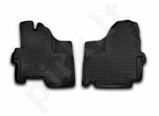 Guminiai kilimėliai 3D IVECO Daily 2012->, 2 pcs. /L33001