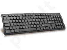 Klaviatūra MODECOM MC-5006 USB Juoda