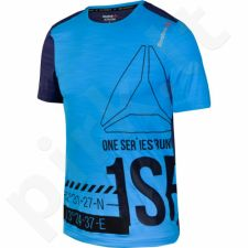 Marškinėliai bėgimui  Reebok One Series Running Short Sleeve ACTIVChill M AX9323