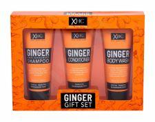 Xpel Ginger, rinkinys šampūnas moterims, (šampūnas 100 ml + kondicionierius 100 ml + dušo želė 100 ml)