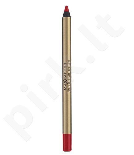 Max Factor lūpų pieštukas, kosmetika moterims, 5g, (12 Red Blush)