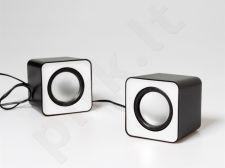 Stereo kolonėlės Media-Tech FADO RMS 6W Baltos