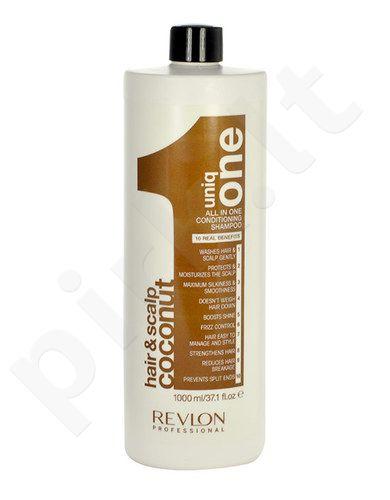 Revlon Uniq One Coconut kondicionierius ir šampūnas, kosmetika moterims, 1000ml