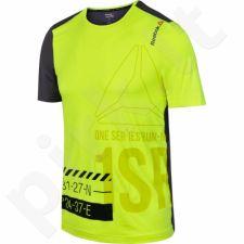 Marškinėliai bėgimui  Reebok One Series Running Short Sleeve ACTIVChill M AX9325