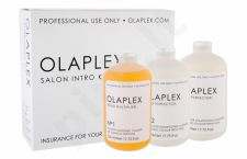 Olaplex Salon Intro Kit, Bond Multiplier No. 1, rinkinys plaukų serumas moterims, (Bond Multiplier No. 1 525 ml + Bond Perfector No. 2 2 x 525 ml + Dosing Dispenser)