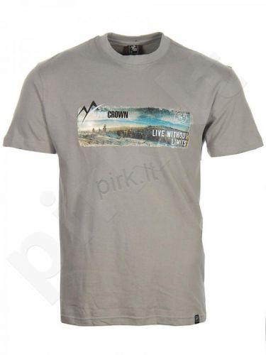 Marškinėliai ALPINECROWN MEN'S ROUND NECK T-SHIRT