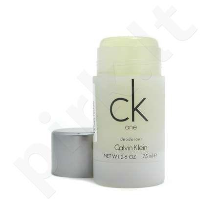Calvin Klein One, 75ml, pieštukinis dezodorantas vyrams