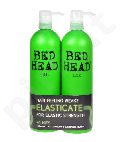 Tigi (750m Elasticate šampūnas + 750ml Elasticate kondicionierius) Bed Head Elasticate Strengthening šampūnas, 1500ml, kosmetika moterims