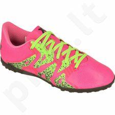 Futbolo bateliai Adidas  X 15.4 TF Jr S74612
