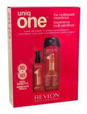 Revlon Professional Uniq One, rinkinys plaukų kaukė moterims, (plaukų kaukė 150 ml + šampūnas 300 ml)