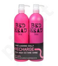 Tigi High Octane, Bed Head Recharge, rinkinys šampūnas moterims, (750ml Bed Head Recharge High Octane šampūnas + 750ml Bed Head Recharge High Octane kondicionierius)
