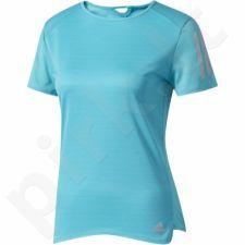 Marškinėliai bėgimui  Adidas Response Short Sleeve Tee W BP7457