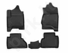Guminiai kilimėliai 3D CADILLAC Escalade 2015->, 4 pcs. /L05002