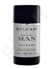 Bvlgari MAN Extreme, pieštukinis dezodorantas vyrams, 75ml