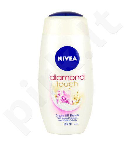 Nivea Diamond Touch kremas Oil Shower, kosmetika moterims, 250ml