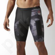 Kompresiniai šortai Reebok CrossFit Short Printed M BK1065