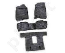 Guminiai kilimėliai 3D CADILLAC Escalade 2006-2015, 5 pcs. /L05006