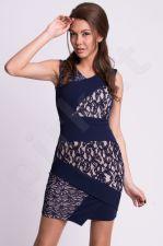 Emamoda suknelė - mėlyno atspalvio 9914-2