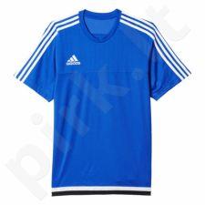 Marškinėliai futbolui Adidas Tiro15 Training Jersey M S22307