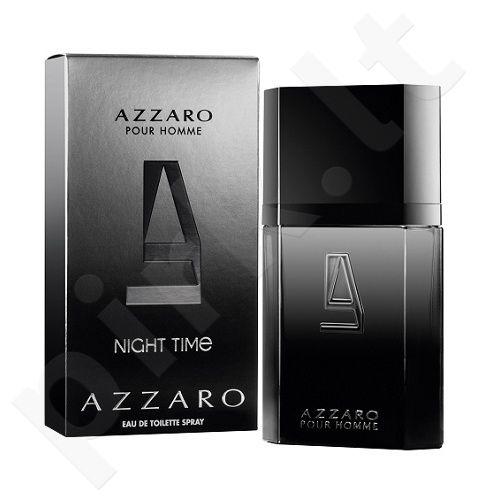 Azzaro Pour Homme Night Time, tualetinis vanduo (EDT) vyrams, 100 ml