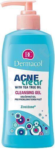 Dermacol AcneClear Cleansing Gel, 200ml, kosmetika moterims