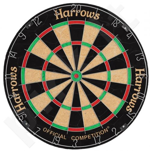 Taikinys OFFICIAL COMPETITION BRISTLE DARTSBOARD E
