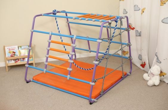 Vaikų sporto kompleksas WALLBARZ BabyWonder