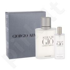 Giorgio Armani Acqua di Gio Pour Homme rinkinys vyrams, (EDT 100 ml + EDT 15 ml)
