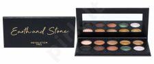 Makeup Revolution London Revolution PRO, Colour Focus Shadow Palette, akių šešėliai moterims, 15g, (Earth & Stone)