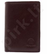 KRENIG Classic 12028 ruda piniginė odinė , vyrams