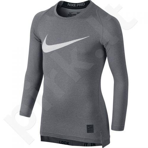 Marškinėliai termoaktyvūs Nike Pro Cool HBR Compression Long Sleeve Top Junior 726460-091