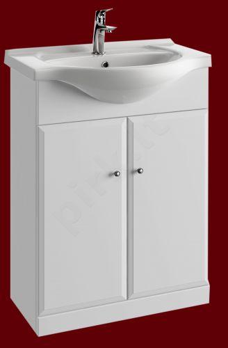 Vonios kambario spintelė su praustuvu 6501 D65