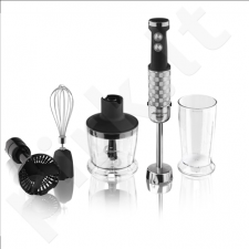Scarlett SL-HB43M80 Hand blender, Variable speed control,  Mini-chopper: 500 ml, TURBO function, Ice crush knife, 1000 W