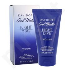 Davidoff Cool Water Night Dive, dušo želė moterims, 150ml