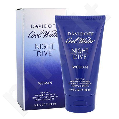 Davidoff Cool Water Night Dive, dušo želė moterims, 150ml